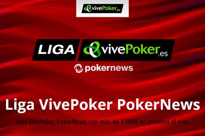 Formato KO esta noche en la Liga VivePoker PokerNews 0001