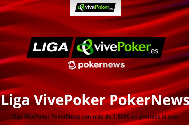 Liderato compartido tras la jornada de la Liga VivePoker PokerNews 0001