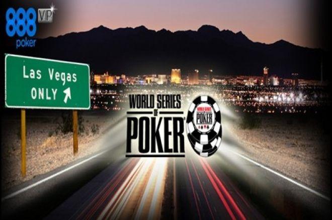 Juega las WSOP de Las Vegas totalmente gratis gracias a 888poker 0001