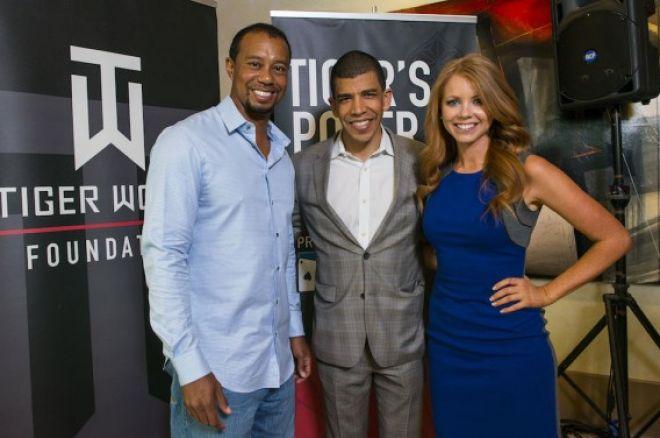 Tiger Woods, Adam Pliska, & Lynn Gilmartin