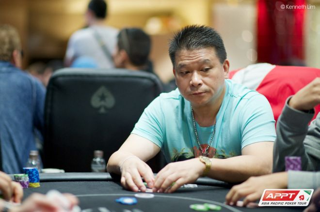 2014 PokerStars.net APPT Macau Main Event Day 1a: Box Xie Leads, Johnny Chan Out 0001