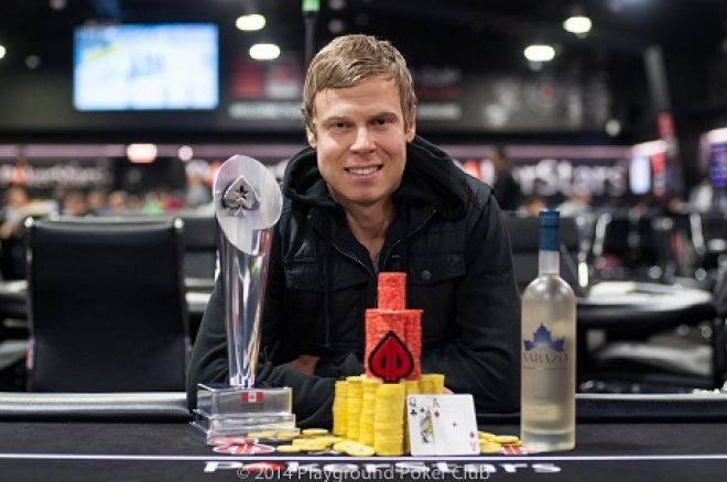 Sam Chartier Wins PokerStars Canada Cup $10,400 High Roller for $122K 0001