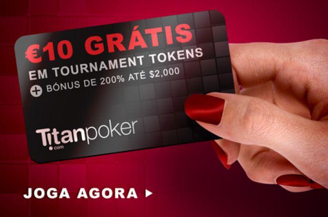 €10 Grátis em Tokens Turbo Double up Sit&Go na Titan Poker 0001