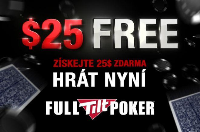 Limitovaná nabídka: Získej $25 v herně Full Tilt Poker zcela zdarma! 0001