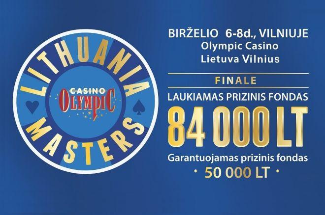 """Netrukus prasidės registracija į """"Lithuania Masters"""" turnyrą 0001"""