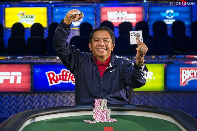 2014 World Series of Poker Day 3: Reparejo Wins Event #1; Selbst, Billirakis Aim for More... 0001