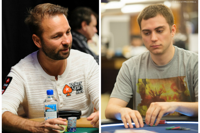 "Daniel Negreanu and David ""Bakes"" Baker Discuss WSOP Shootout Strategy 0001"