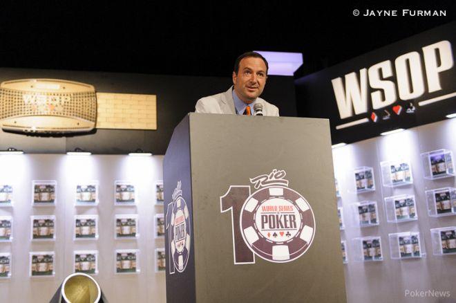 """Ty Stewart, director de las WSOP: """"Queremos un torneo de 10.000 personas el próximo año"""" 0001"""