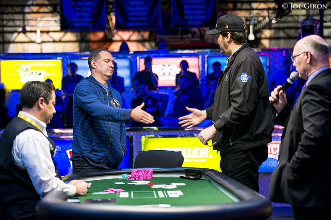 Phill Hellmuth és Ted Forrest