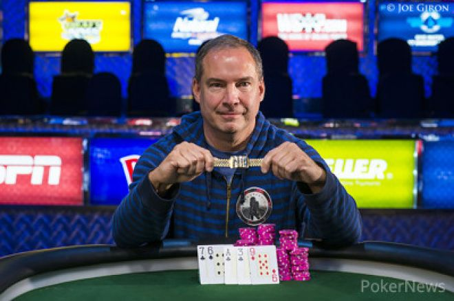 WSOP 2014: Ted Forrest porazil v heads-up Phila Hellmutha a vyhrál $1,500 Seven-Card Razz 0001