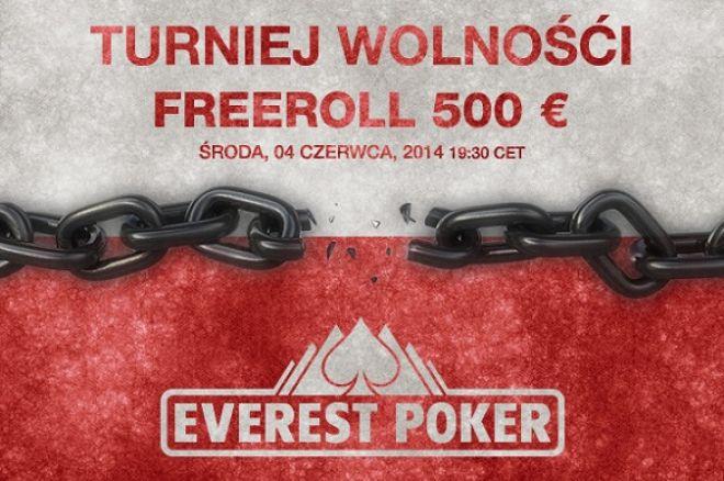 """Specjalny freeroll 'Turniej Wolności"""" na Everest Poker - tylko dla polskiej społeczności! 0001"""