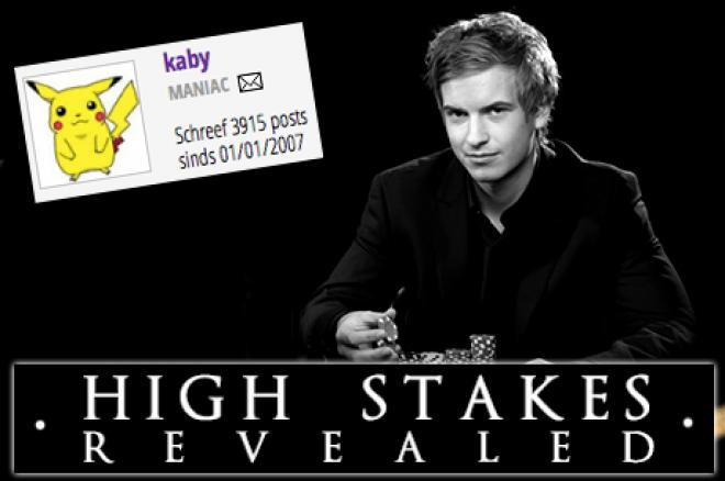 """High Stakes Revealed: """"kaby"""" en Blom doen het goed, en wie is """"Osama_no_Brunch""""?"""