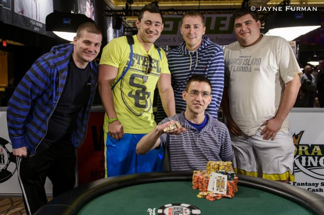 Gregory Kolo wygrywa WSOP Event #12: $1,500 Pot-Limit Hold'em ($169,225)! 0001