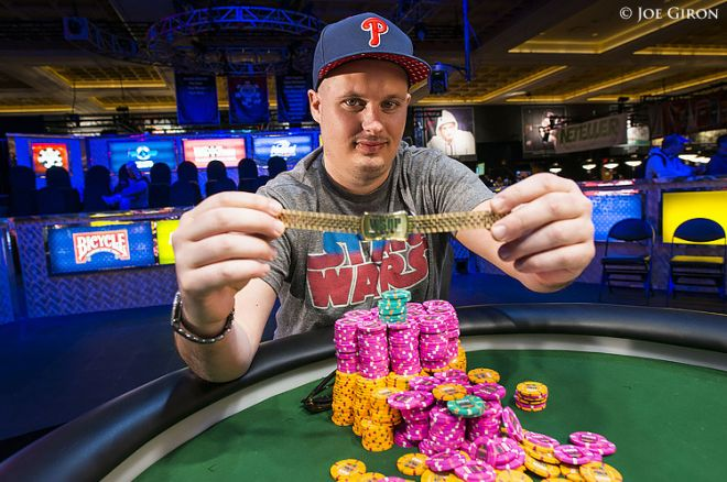 Paul Volpe wins 2014 WSOP $10,000 No-limit 2-7 Single Draw