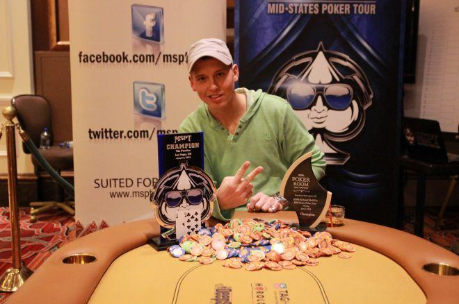 Drake Bronk Wins Mid-States Poker Tour Mid-Season Championship in Las Vegas 0001