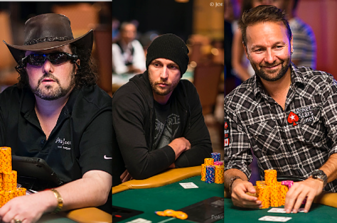 David Bach, Brandon Shack-Harris e Negreanu na Luta pelo Evento #18 0001