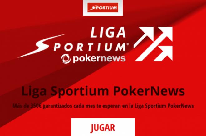 Igualdad tras la segunda jornada de la Liga Sportium PokerNews 0001
