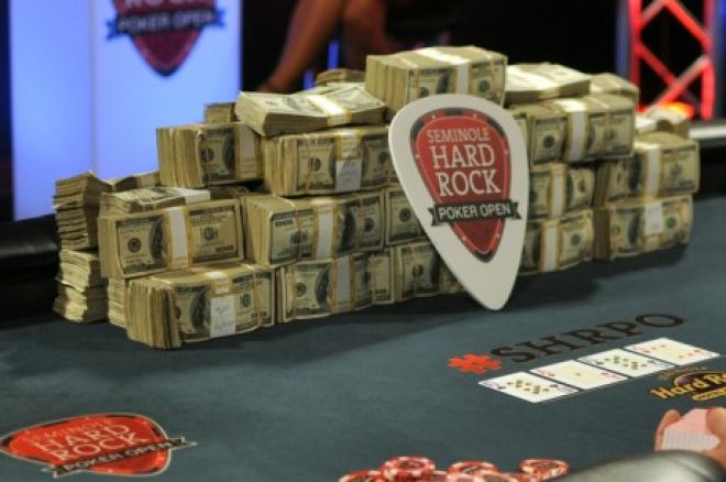 $10 Million Seminole Hard Rock Poker Open Set for August; Won't Clash with EPT Barcelona 0001