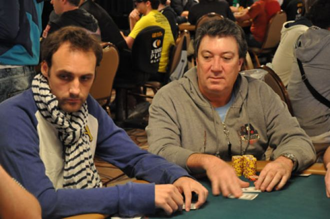 Fernando Brito OUT; Matt Jarvis Lidera o Evento #24 0001