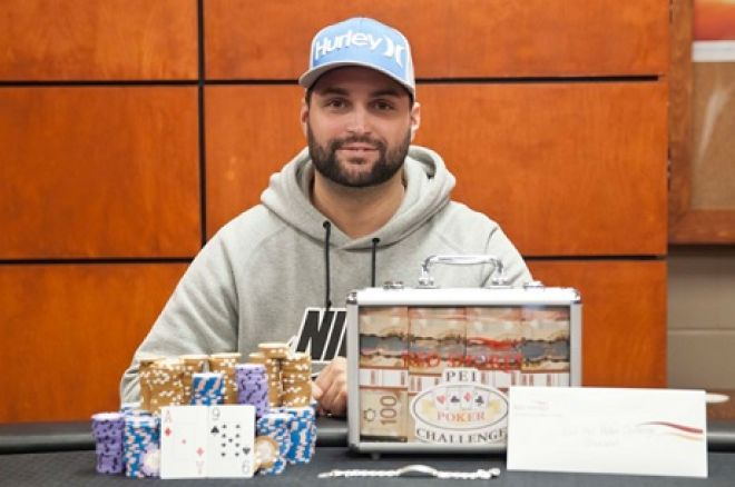 Robbie Richard wins PEI Poker Challenge