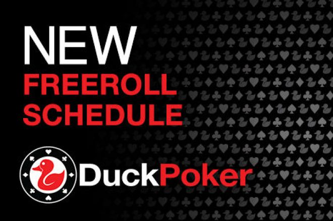 More Freerolls Added to DuckPoker's Tournament Schedule 0001