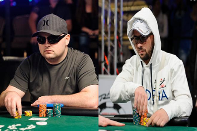 Sam Stein e Davide Suriano na Final do $10k Head-Up 0001