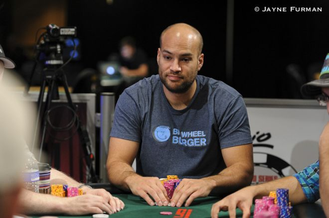 Dan Idema at WSOP Dealer's Choice