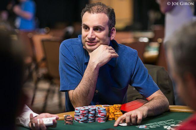 Abe Mosseri Chip Leader do $50k Poker Players Championship 0001
