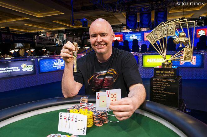 """Pokerio profesionalų perpildytame """"Poker Players Championship"""" turnyre triumfavo Johnas... 0001"""