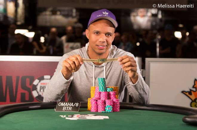 Phil Ivey Venceu a sua 10ª Bracelete no Evento #50: $1,500 Eight-Game Mix ($167,332) 0001