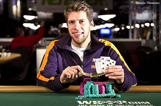Florian Langmann Vence Evento #54: $3,000 Pot-Limit Omaha Hi-Low ($297,650) 0001
