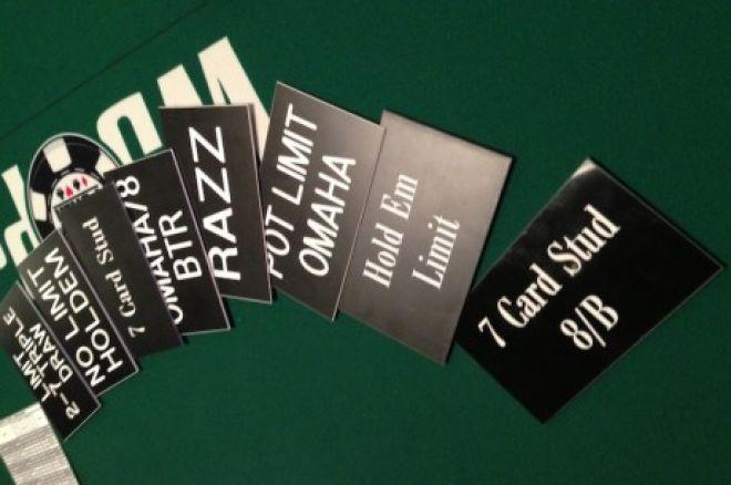 пять различных форм покера