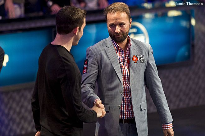 Daniel Negreanu finished second in the Big One for One Drop