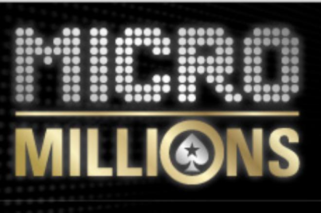 PokerStars organizuoja 8-ąją MicroMillions turnyrų seriją 0001