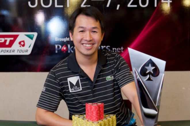 Thanh Ha Duong Pulls Off Comeback to Win 2014 PokerStars.net APPT Manila Main Event 0001
