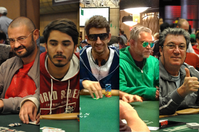 5 Lusos no dia 2 do Main Event das World Series of Poker 2014 0001