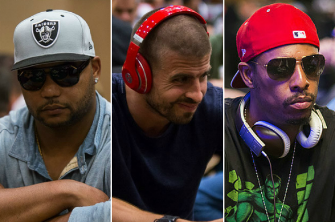 Paul Pierce, Gerard Piqué and Other Athletes Square Off at the WSOP 0001