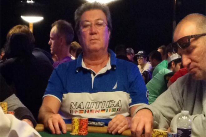 Fernando Brito Passa ao Dia 4 do Main Event WSOP 2014 0001