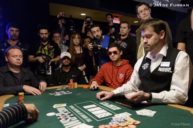 Five Simultaneous All-Ins Create Exciting Money Bubble at WSOP Main Event 0001