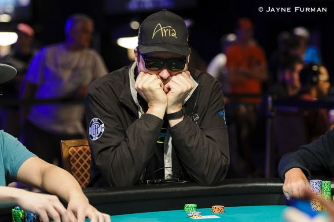 Phil Hellmuth Bluffs His Way Out of the Main Event With 10-3 Offsuit 0001