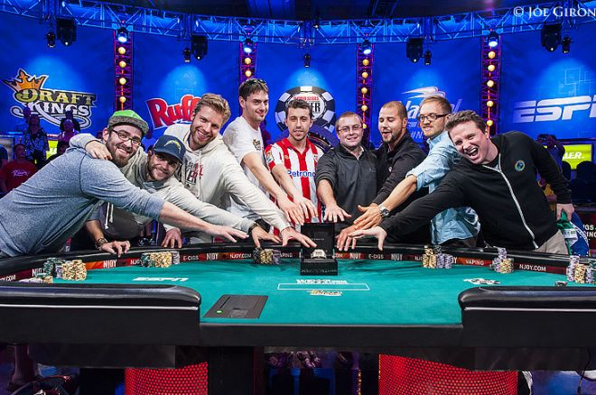2014 WSOP Main Event November Nine