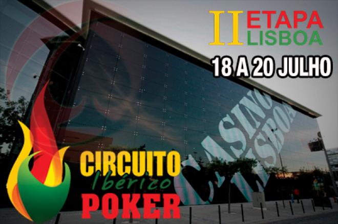 2ª Etapa Circuito Ibérico de Poker - Casino Lisboa 18 a 20 de Julho 0001