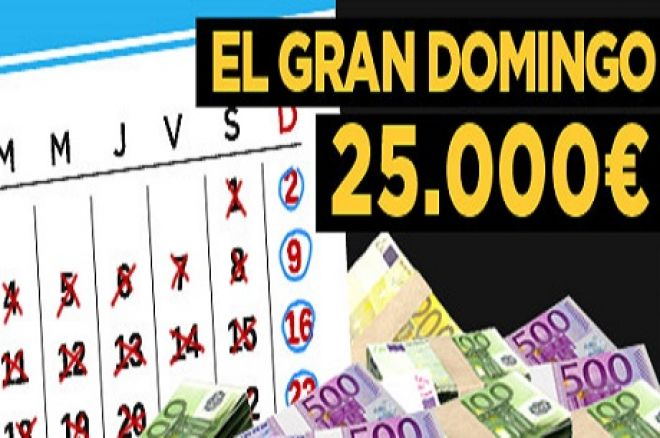888poker.es nos trae El Gran Domingo, 25.000 euros semanales al alcance de todos 0001