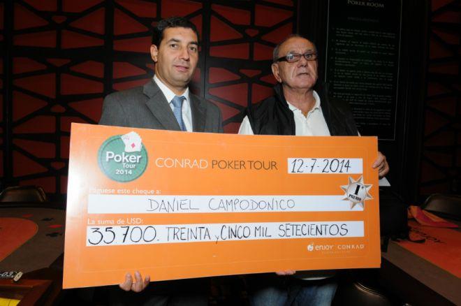 Un Canario cantó en el Conrad Poker Tour de Uruguay 0001