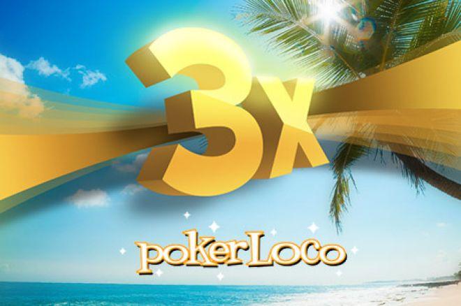 Verão Loco na PokerLoco: Primeiro Freeroll de €500 a 4 de Agosto 0001
