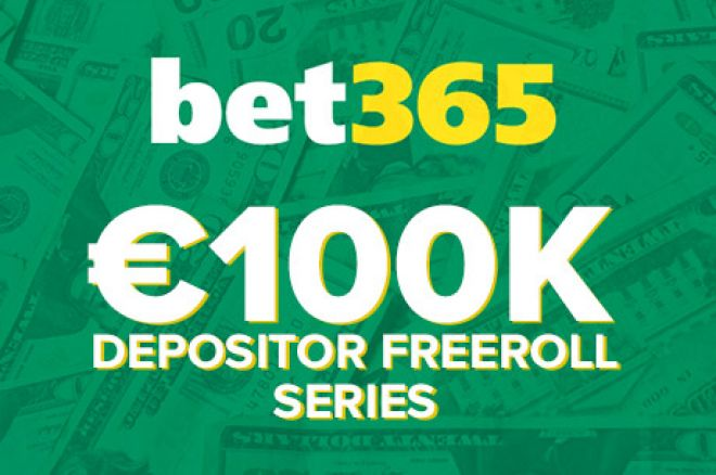 Win a Share of €100,000 in Bet365 Freerolls This Summer! 0001