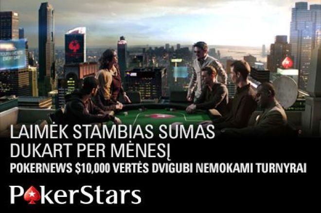 Nemokami rugpjūčio mėnesio PokerNews turnyrai PokerStars kambaryje: garantuota 30,000... 0001