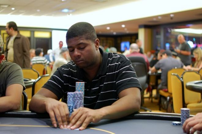 Doug James is chip leading the CPT Main Event