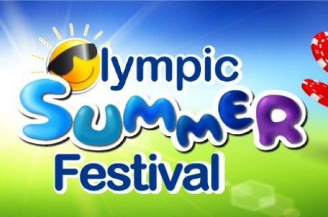 """Šį antradienį startuoja """"Olympic Summer Festival"""" gyvo pokerio serija 0001"""