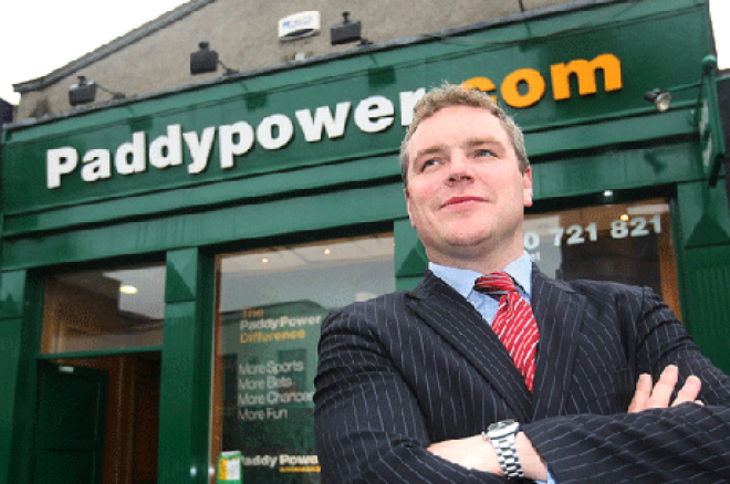 Paddy Power outside of a Paddy Power betting shop